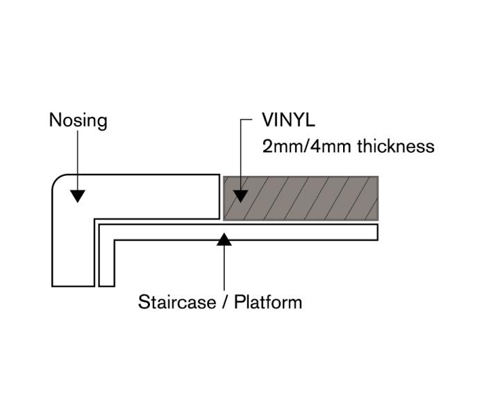 Aluminium Nosing Anti Slip Hoss Flooring Supplier